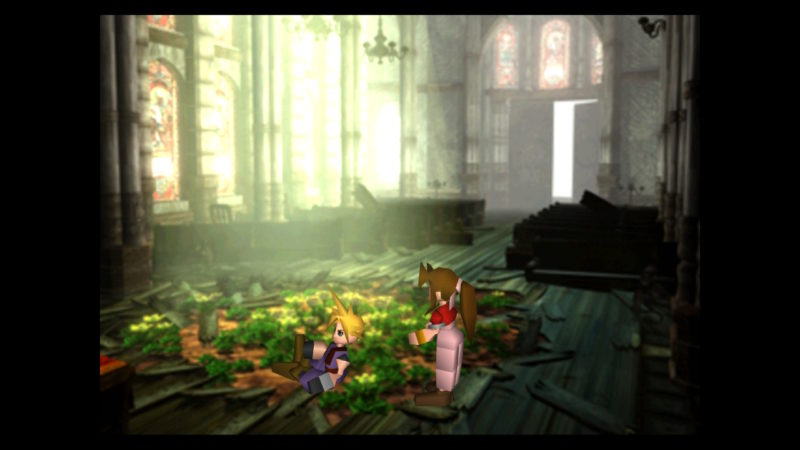 Final Fantasy VII fleur