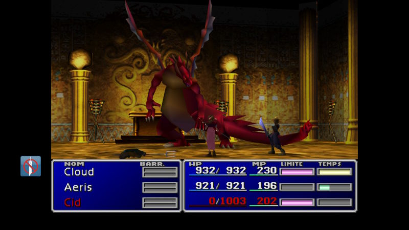 Final Fantasy VII dragon