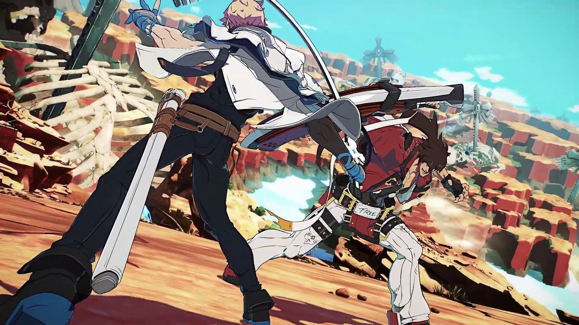 guilty gear strive - Sol et Ky