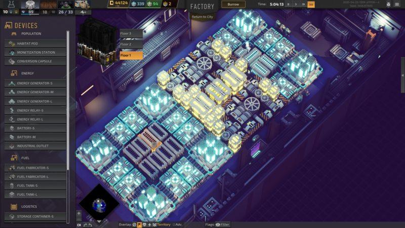 Industries of Titan électricité 2