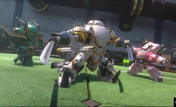 Sakura Wars trois robots