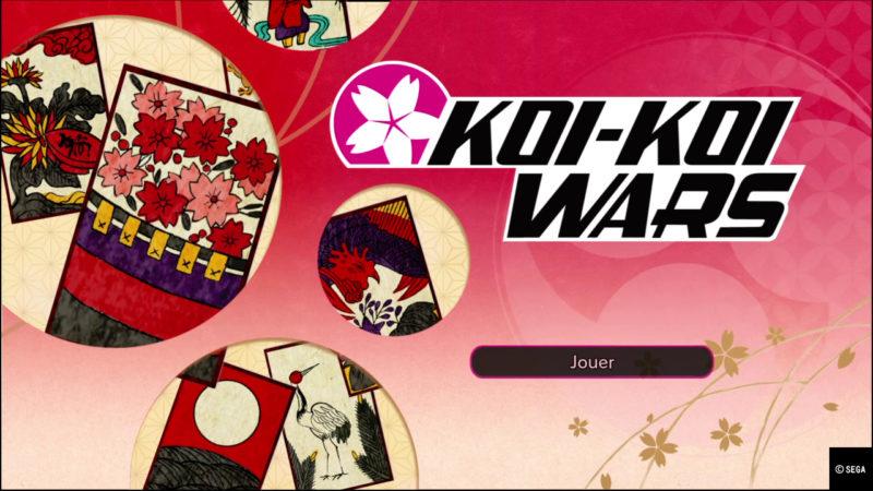 Sakura Wars mini jeu koi koi