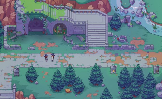 Witchbrook - Visuel datant de Spellbound