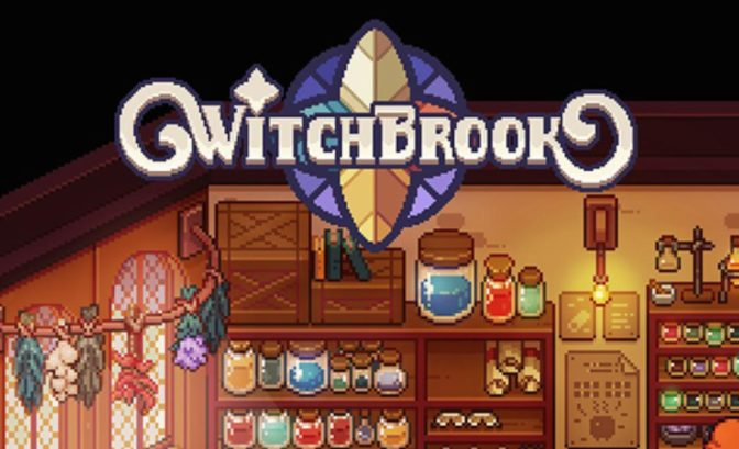 Witchbrook - logo