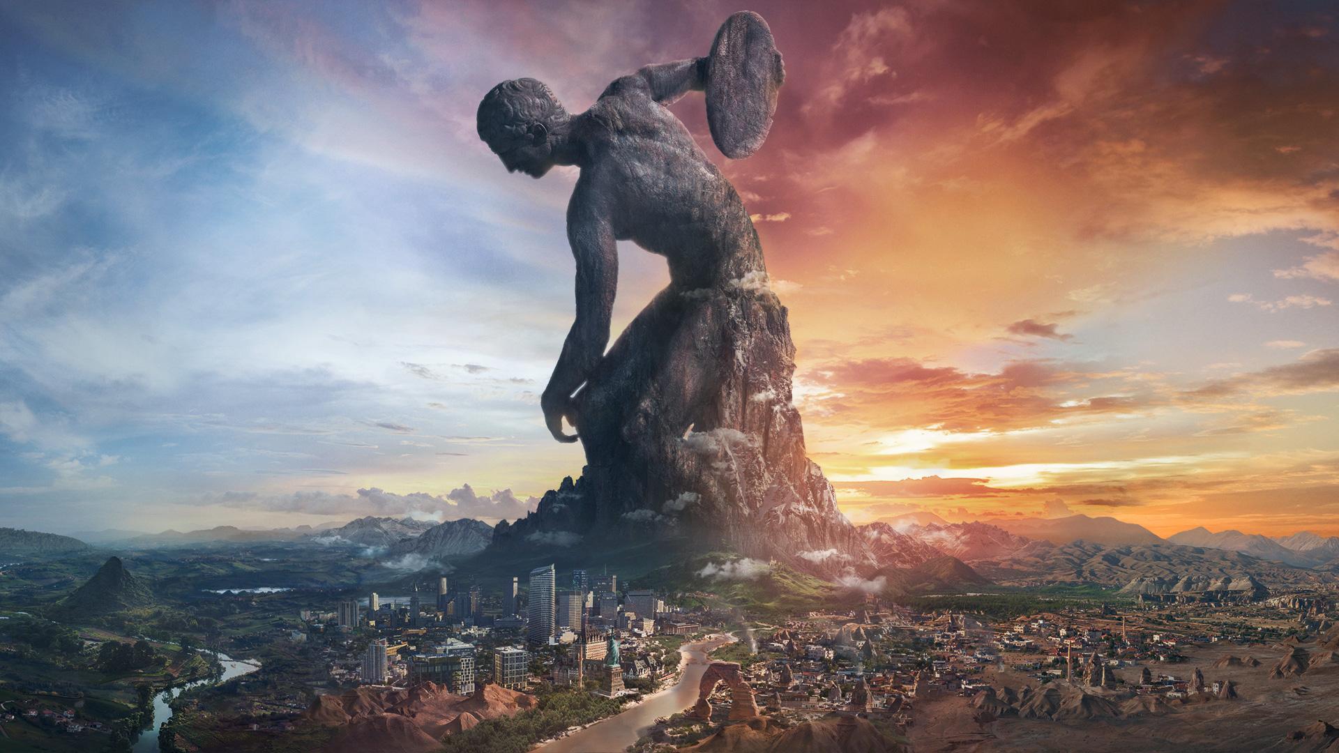Civilization VI - Statue géante
