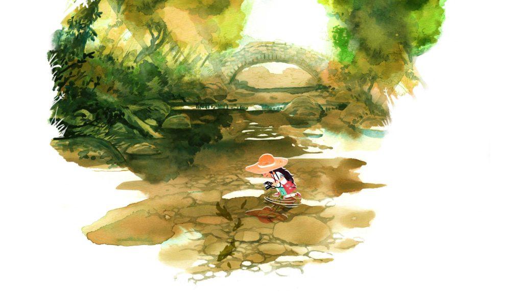 Dordogne illustration aquarelle