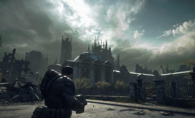 Gears of War sur Xbox Series X
