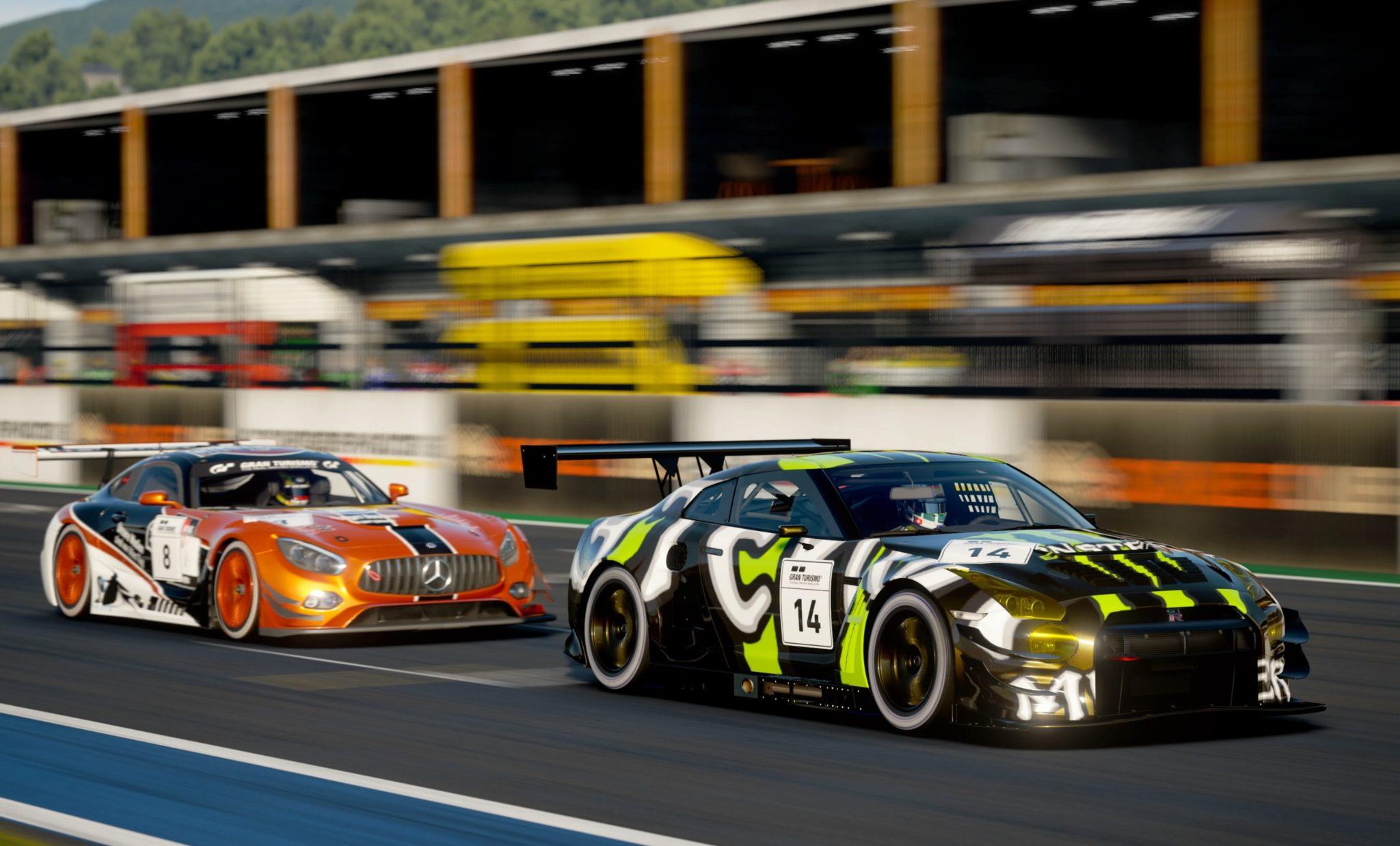 Gran Turismo 7 - visuel GT Sport