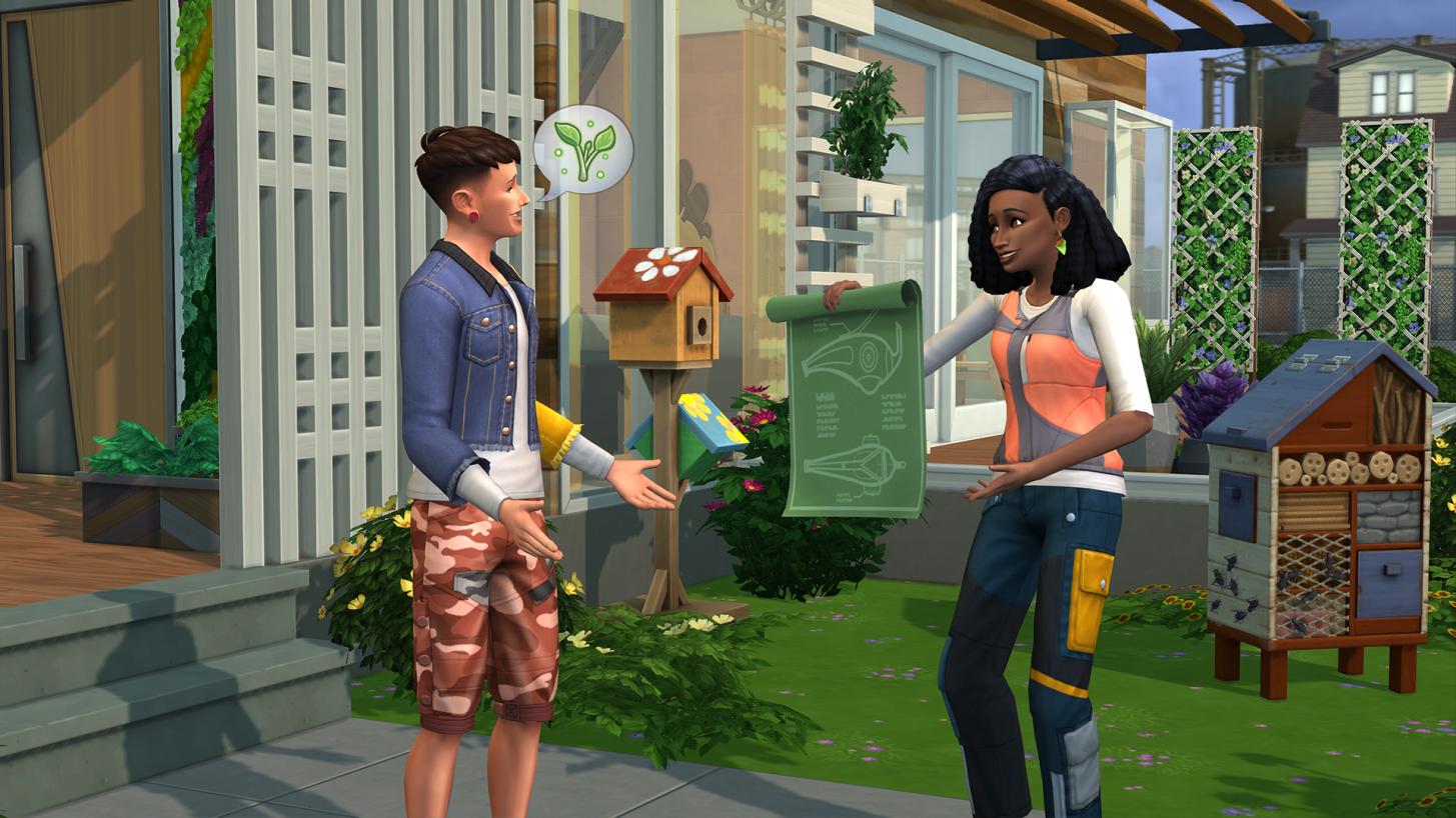Pack d'extension Les Sims 4 écologie