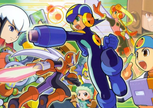 Megaman Battle Network - Chara