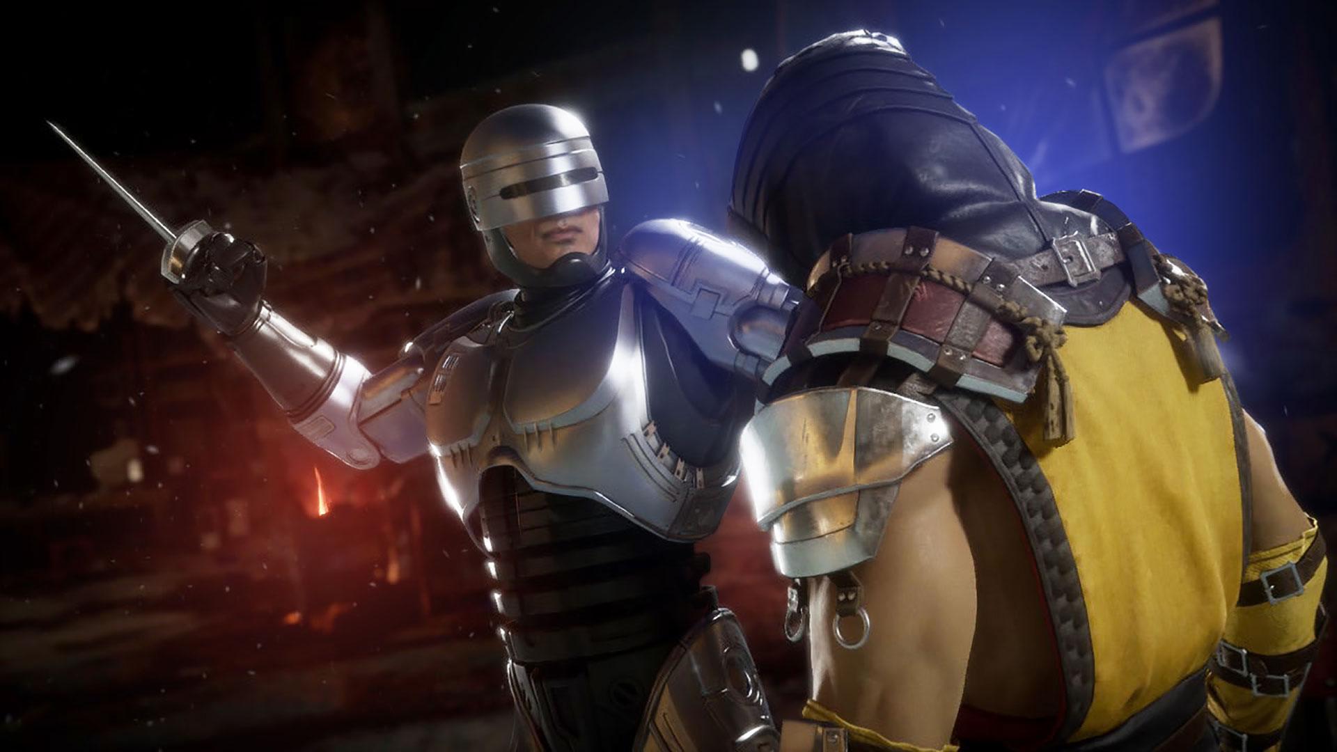 Mortal Kombat 11 Robocop
