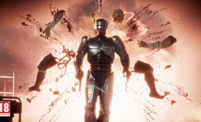 Mortal Kombat 11 robocop fatality