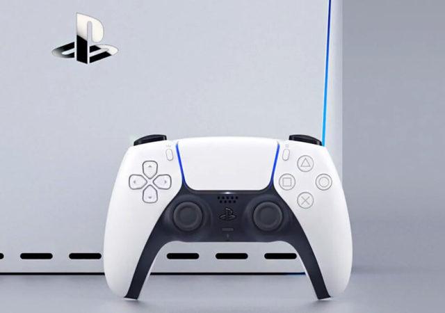 PS5 manette console concept
