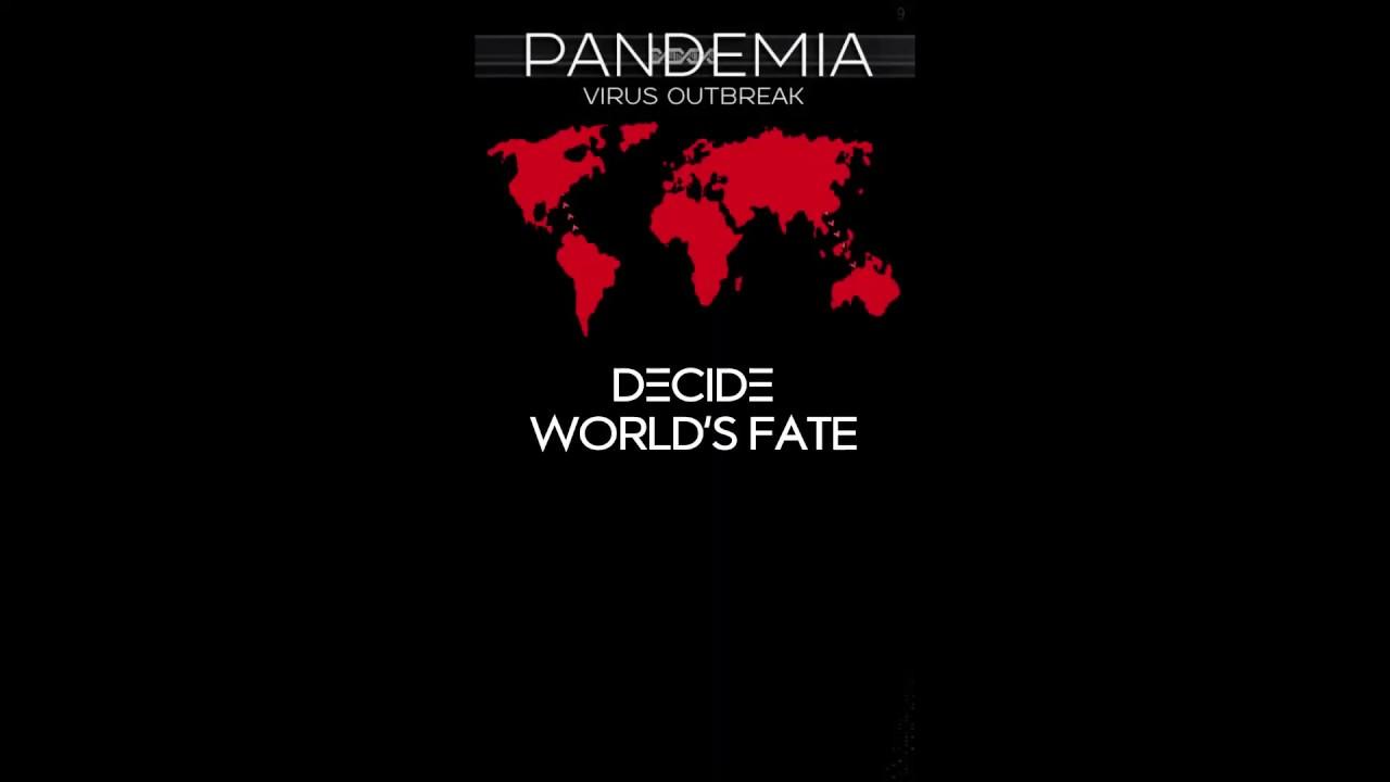 Pandemia: Virus Outbreak écran titre