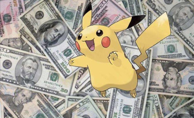Pokémon GO - Pikachu et pognon