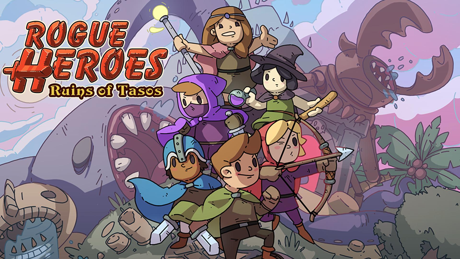 Rogue Heroes: Ruins of Tasos - Bannière