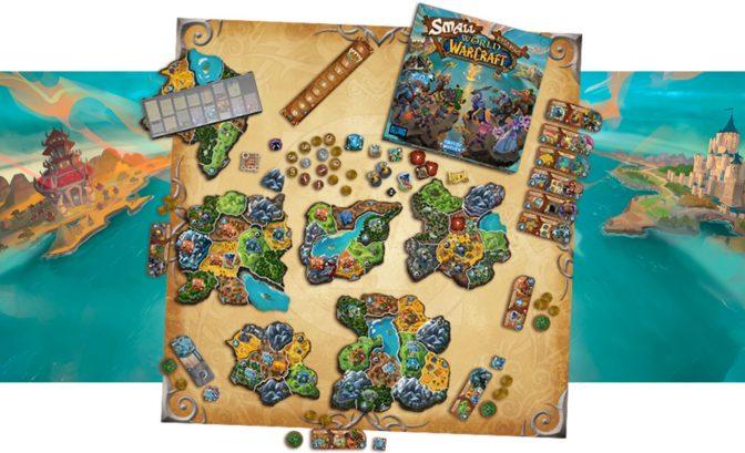 Small Worl of Warcraft - plateau + boite