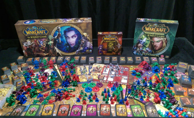 WoW The Board Game + extensions