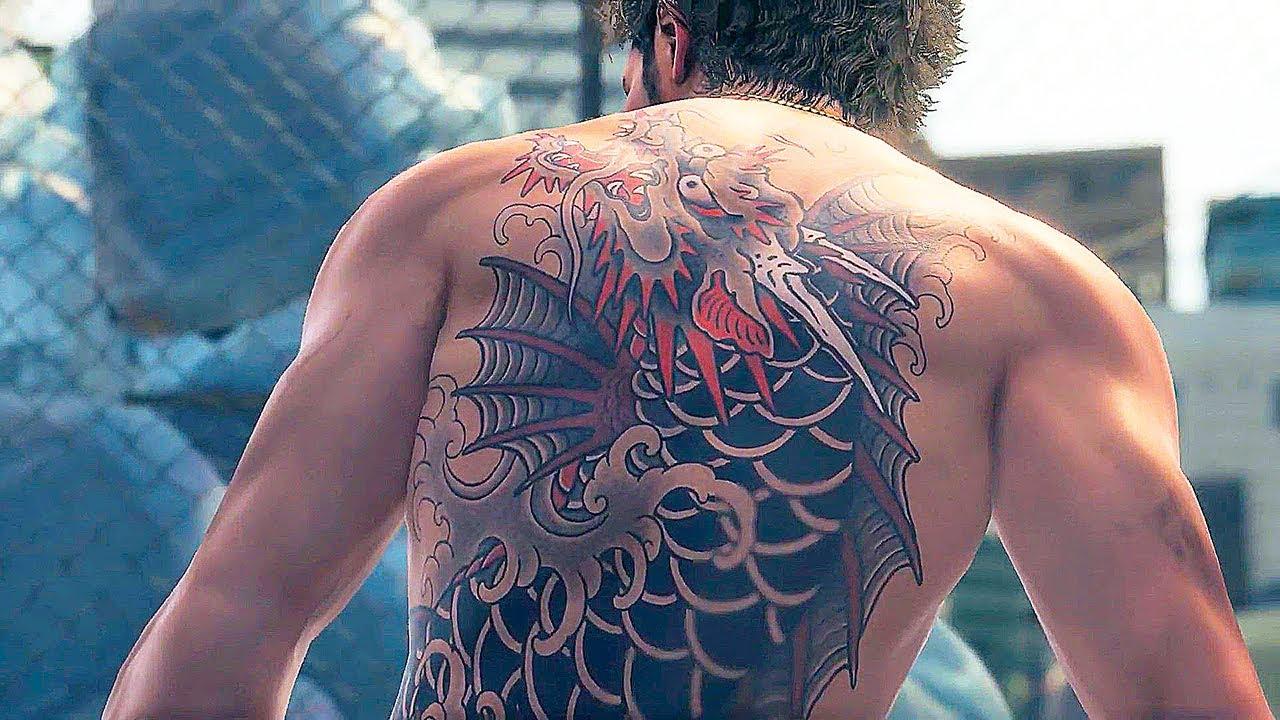 yakuza 7 tatoo