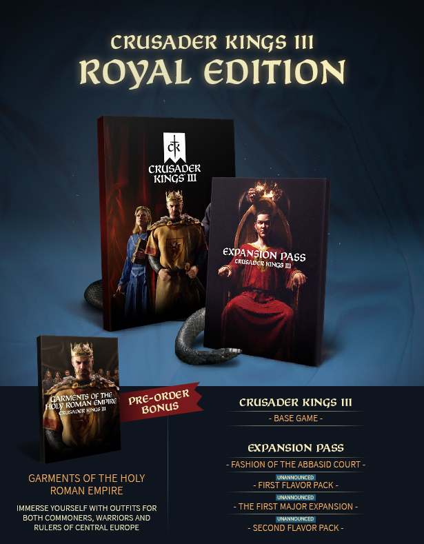 crusaders kings III roayel edition