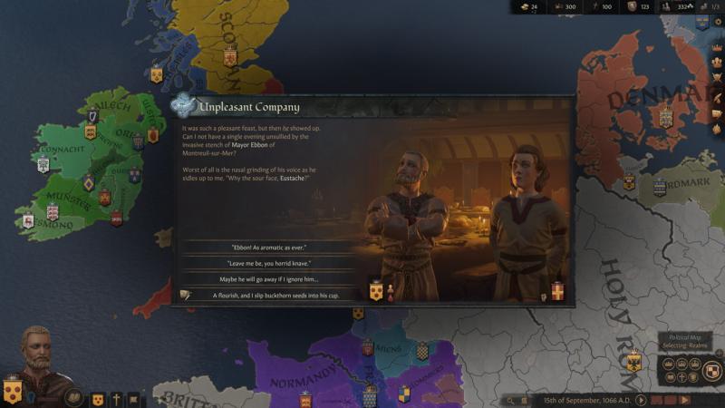 crusaders kings III dialogues