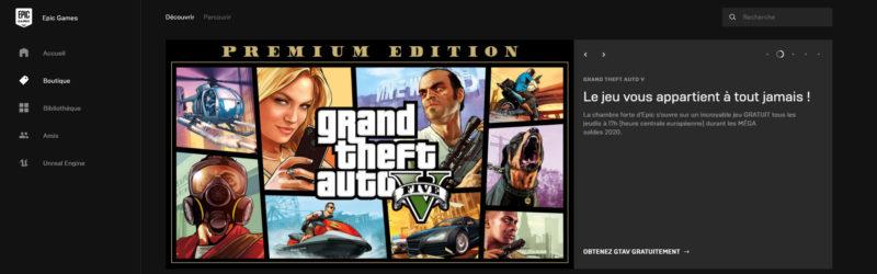 GTA V gratuit