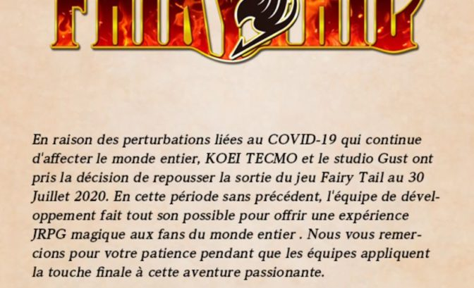 Fairy Tail message report