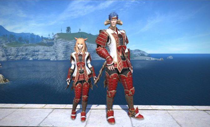 final fantasy XIV - armure final fantasy XI