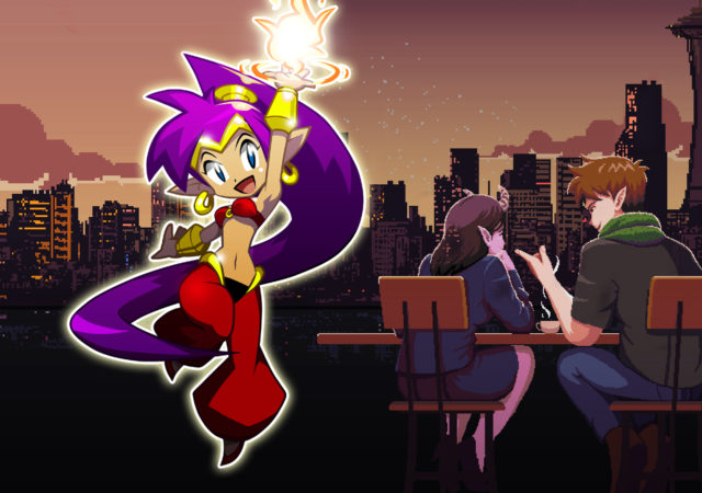 Shantae Coffee talk Games With Gold