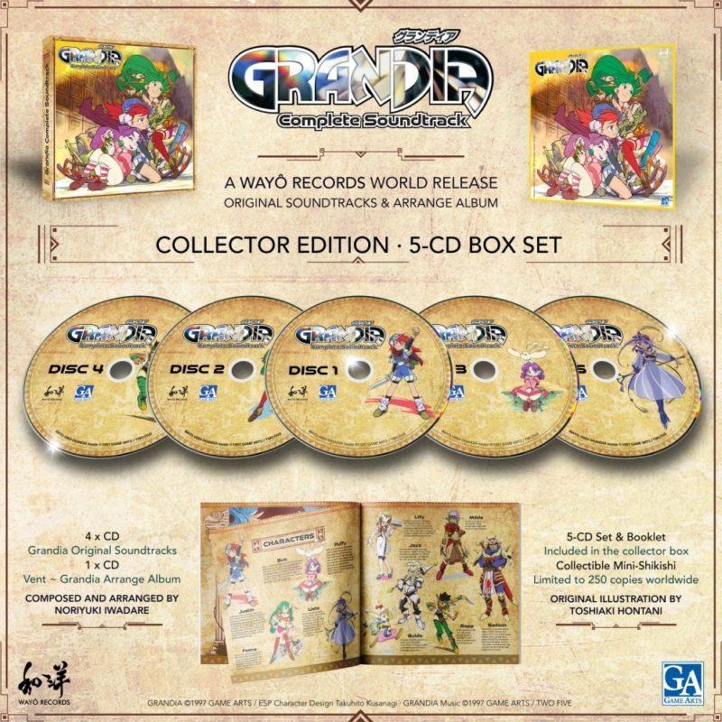 Grandia OST 5 CD