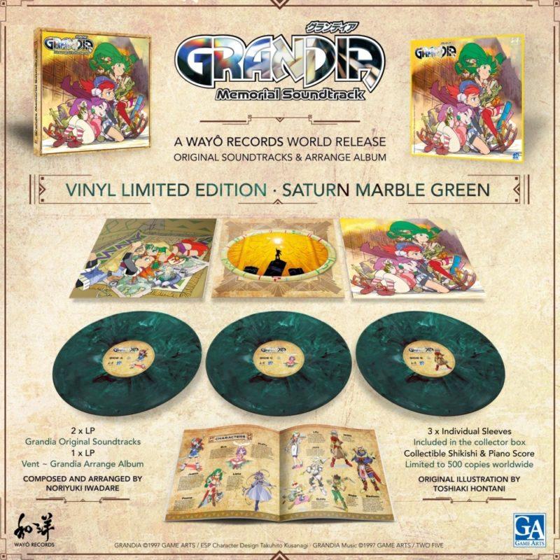 Grandia édition vinyle collector