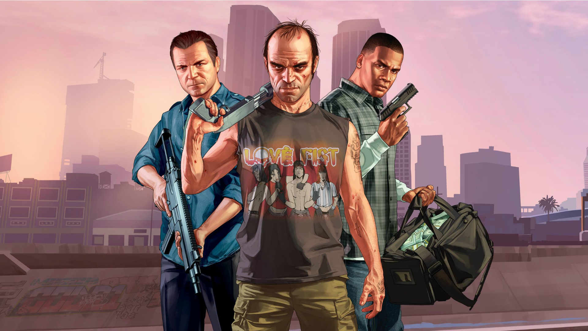 GTA V personnages