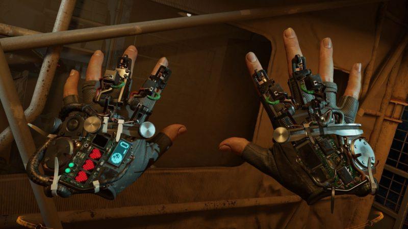 Half-Life: Alyx gravity gloves