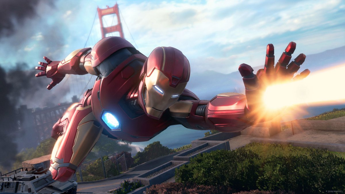 trailer gameplay Marvel's Avengers