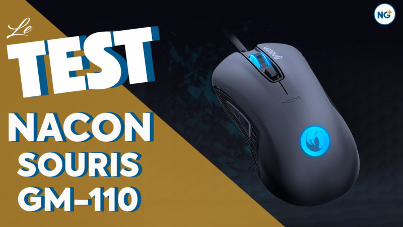 Test de la souris Nacon GM-110