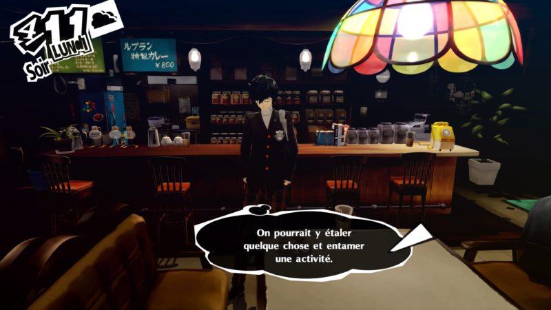 Persona 5 Royal - Café Leblanc