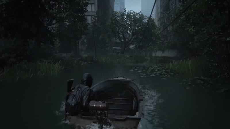 The Last of Us Part II bateau