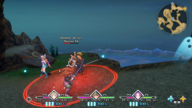 Trials of Mana combat 2