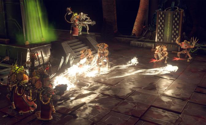 Warhammer 40.000: Mechanicus combat