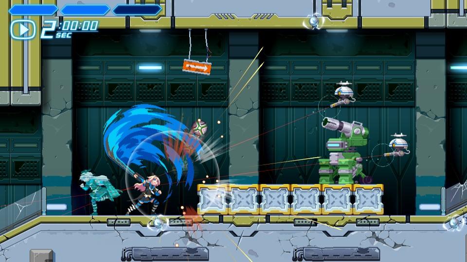 COGEN: Sword of Rewind - Kohaku en action