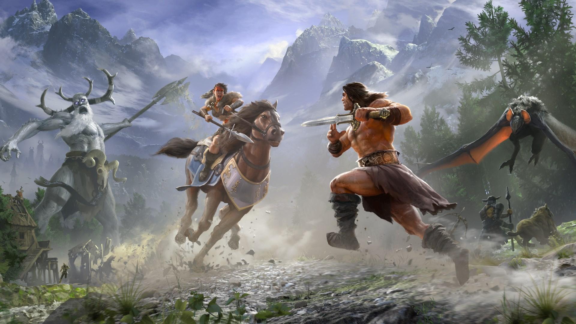 Conan Exiles et HUE - Conan le barbare