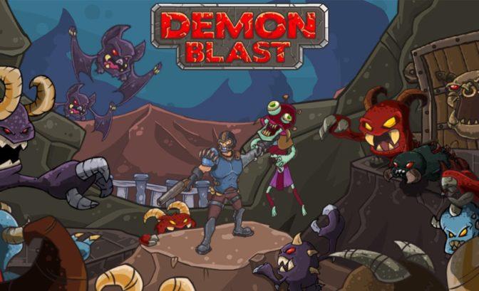 Demon Blast titre artwork