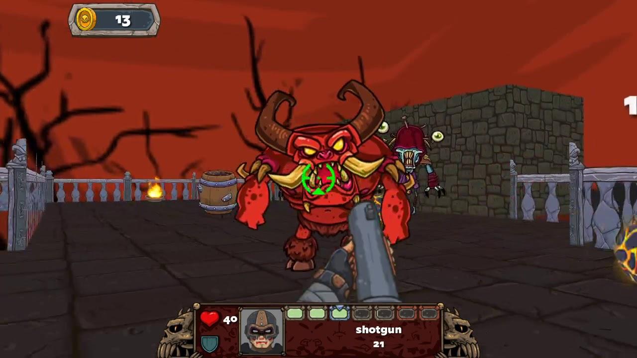 Demon Blast diable fusil à pompe