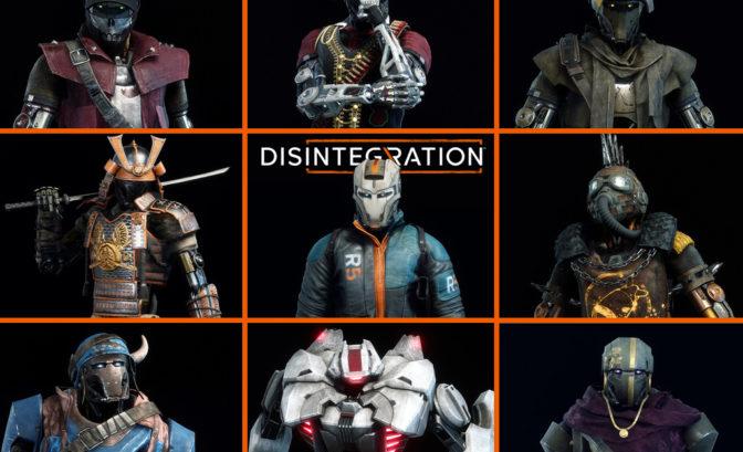 Disintegration - Florilège de designs