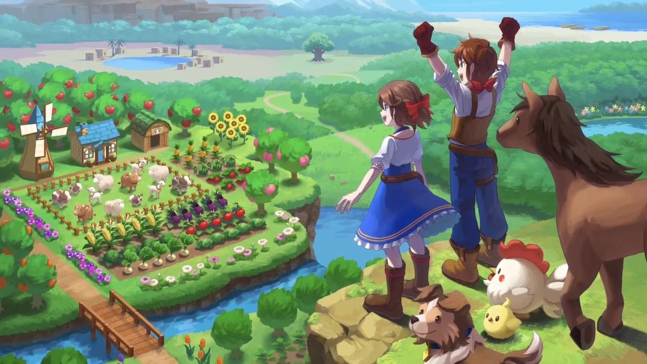 Harvest Moon: One World panorama
