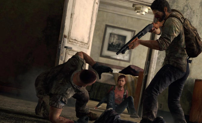 The Last Of Us Joel Violent