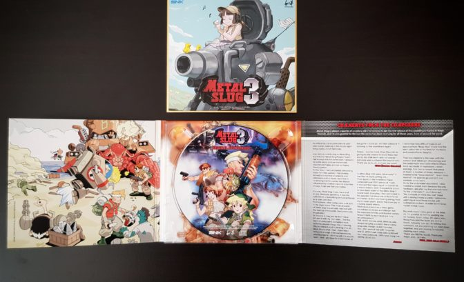 Metal slug 3 ost - CD ouvert