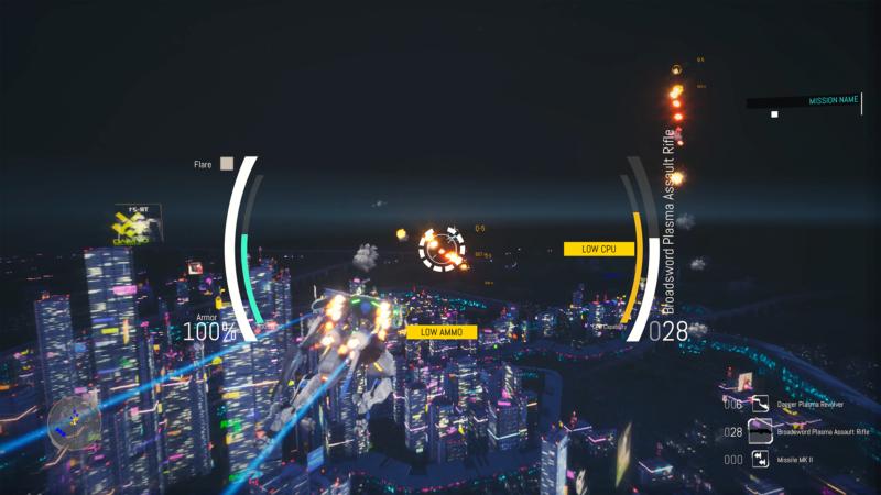 Nimbus INFINITY - vole de nuit au dessus d'une ville