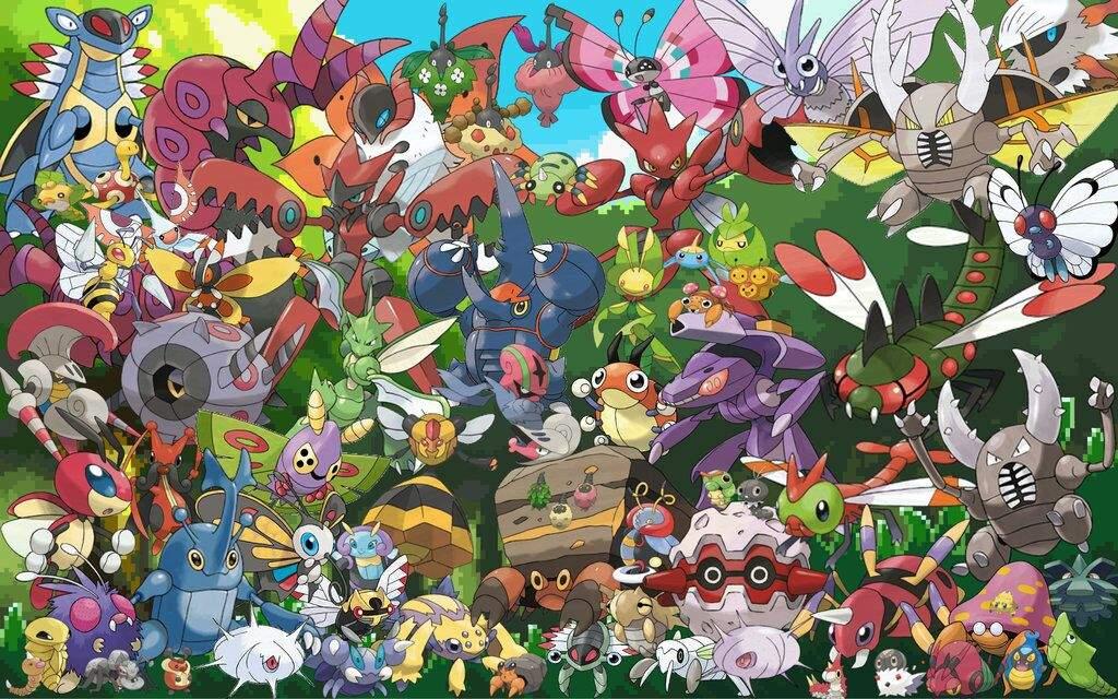 Pokémon GO - Insectes