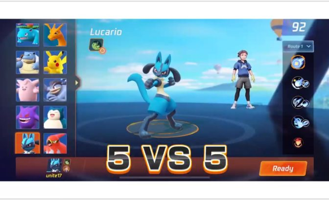 Pokémon Unite - les monstres